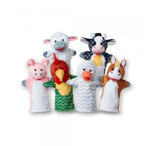Black Friday 2020 - Melissa & Doug Barn Buddies Hand Puppets 6pc