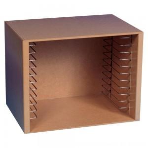 Black Friday 2020 - Melissa & Doug Natural Wood Puzzle Storage Case (Holds 12 Puzzles)