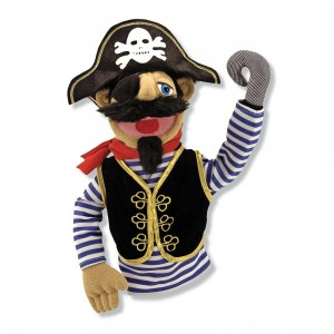 Black Friday 2020 - Melissa & Doug Pirate Puppet With Detachable Wooden Rod