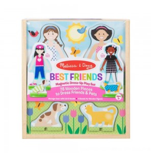 Black Friday 2020 - Melissa & Doug Best Friends Dress Up