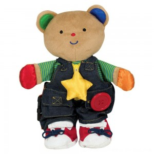 Black Friday 2020 - Melissa & Doug K's Kids - Teddy Wear Stuffed Bear Educational Toy