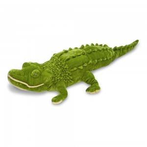 Black Friday 2020 - Melissa & Doug Giant Alligator - Lifelike Stuffed Animal (nearly 6 feet long)