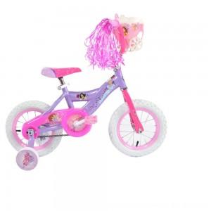 "Black Friday 2020 - Huffy Disney Princess Cruiser Bike 12"" - Purple, Girl's"