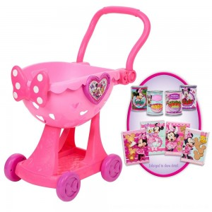 Black Friday 2020 - Disney Minnie's Happy Helpers Bowtique Shopping Cart