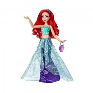 Black Friday 2020 - Disney Princess Style Series Ariel Doll with Purse and Shoes