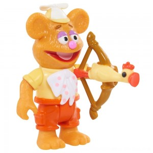Black Friday 2020 - Disney Junior Muppet Babies Poseable Fozzie