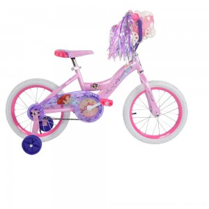"Black Friday 2020 - Huffy Disney Princess Bike 16"" - Pink, Girl's"