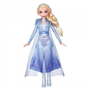 Black Friday 2020 - Disney Frozen 2 Elsa Fashion Doll With Long Blonde Hair and Blue Outfit