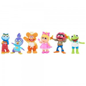 Black Friday 2020 - Disney Junior Muppet Babies Playroom Figure Set
