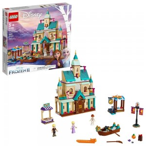 Black Friday 2020 - LEGO Disney Princess Frozen 2 Arendelle Castle Village 41167 Toy Castle Building Set for Imaginative Play