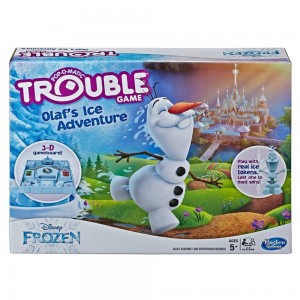 Black Friday 2020 - Trouble Disney Frozen Olaf's Ice Adventure Game