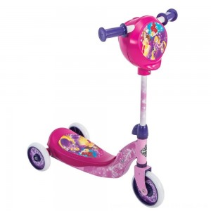 Black Friday 2020 - Huffy Disney Princess Secret Storage Scooter, Kids Unisex, Pink