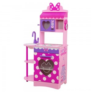 Black Friday 2020 - KidKraft Disney Jr. Minnie Mouse Toddler Kitchen