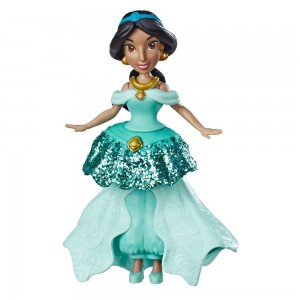 Black Friday 2020 - Disney Princess Jasmine Doll with Royal Clips Fashion, One-Clip Skirt