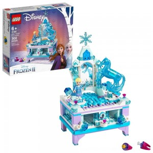 Black Friday 2020 - LEGO Disney Princess Frozen 2 Elsa's Jewelry Box Creation 41168 Disney Jewelry Box Building Kit 300pc