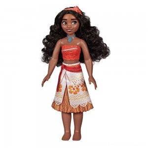 Black Friday 2020 - Disney Princess Royal Moana Shimmer Doll