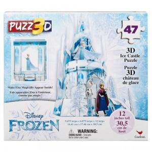 Black Friday 2020 - Cardinal Disney Frozen 3D Hologram Ice Castle Puzzle 47pc, Kids Unisex