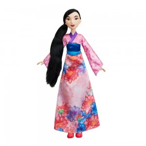 Black Friday 2020 - Disney Princess Royal Shimmer - Mulan Doll