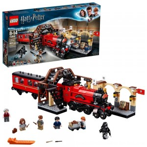 Black Friday 2020 - LEGO Harry Potter Hogwarts Express Train Set with Harry Potter Minifigures and Toy Bridge 75955