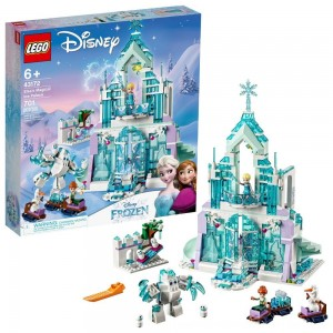 Black Friday 2020 - LEGO Disney Princess Elsa's Magical Ice Palace 43172 Toy Castle Building Kit with Mini Dolls