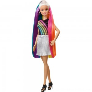 Black Friday 2020 - Barbie Rainbow Sparkle Hair Barbie Doll