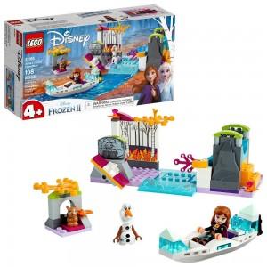 Black Friday 2020 - LEGO Disney Princess Frozen 2 Anna's Canoe Expedition 41165 Frozen Adventure Easy Building Kit 108pc