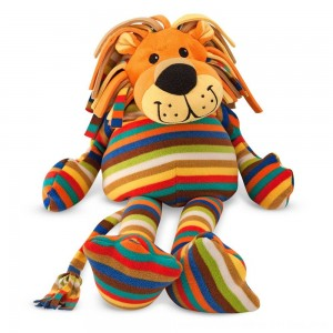 Black Friday 2020 - Melissa & Doug Elvis Lion - Patterned Pal Stuffed Animal