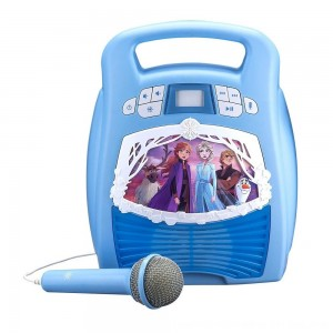 Black Friday 2020 - Disney Frozen 2 MP3 Karaoke Light Show with Microphone