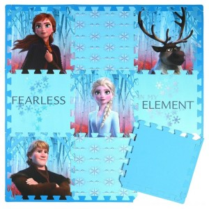 Black Friday 2020 - Disney Frozen 2 9pc Tile Foam Interlocking Fitness Mats