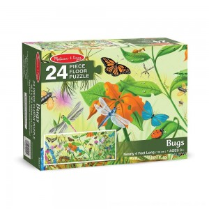 Black Friday 2020 - Melissa And Doug Bugs Jumbo Floor Puzzle 24pc