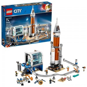 Blac Friday 2020 - LEGO City Space Deep Space Rocket and Launch Control 60228 Model Rocket Building Kit with Minifigures