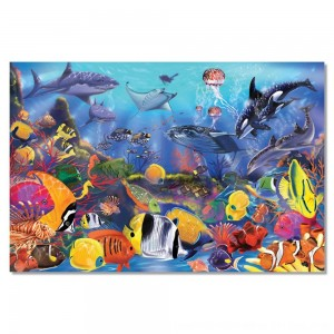 Black Friday 2020 - Melissa And Doug Underwater Ocean Floor Puzzle 48pc