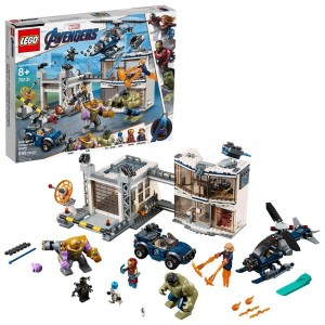 Black Friday 2020 - LEGO Marvel Avengers Compound Battle Collectibles Building Set with Superhero Minifigures 76131