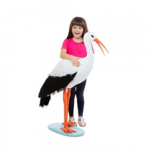 Black Friday 2020 - Melissa & Doug Stork, stuffed animals