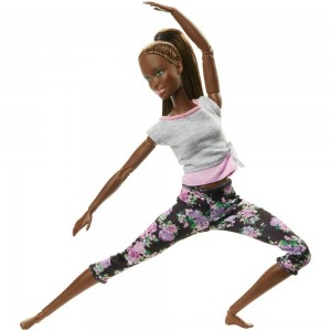Black Friday 2020 - Barbie Made To Move Yoga Nikki Doll