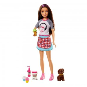 Black Friday 2020 - Barbie Sisters Skipper Doll and Ice Cream Accessory Set