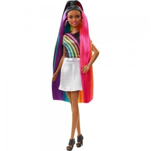 Black Friday 2020 - Barbie Rainbow Sparkle Hair Nikki Doll