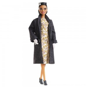 Black Friday 2020 - Barbie Signature Inspiring Women Series Rosa Parks Collector Doll