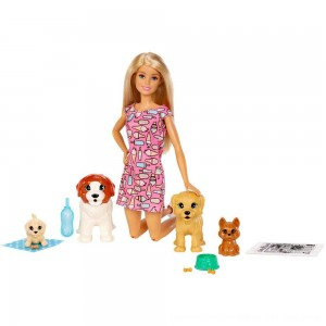 Black Friday 2020 - Barbie Doggy Daycare Doll & Pets