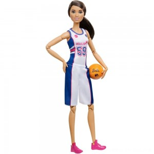 Black Friday 2020 - Barbie Made to Move Basketball Player Doll