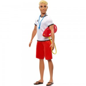Black Friday 2020 - Barbie Ken Career Lifeguard Doll