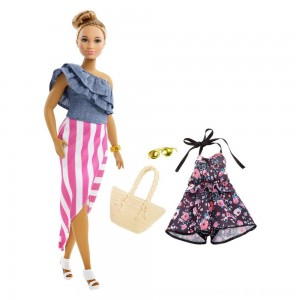 Black Friday 2020 - Barbie Fashionista Bon Voyage Doll