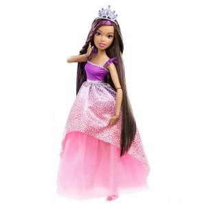 "Black Friday 2020 - Barbie Dreamtopia Princess 17"" Nikki Doll"