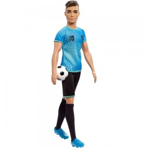 Black Friday 2020 - Barbie Ken Career Soccer Player Doll