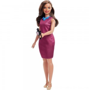 Black Friday 2020 - Barbie Careers 60th Anniversary News Anchor Doll
