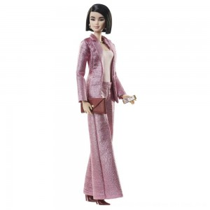 Black Friday 2020 - Barbie Signature Styled By Chriselle Lim Collector Doll in in Pink Pant Suit