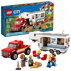 Black Friday 2020 - LEGO City Great Vehicles Pickup & Caravan 60182