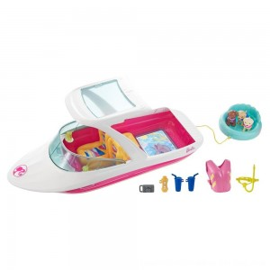 Black Friday 2020 - Barbie Dolphin Magic Ocean View Boat