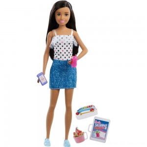 Black Friday 2020 - Barbie Skipper Babysitters Inc. Black Hair Doll Playset