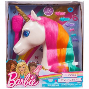 Black Friday 2020 - Barbie Dreamtopia Unicorn Styling Head 10pcs
